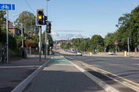 Leeds-Bradford cycle superhighway