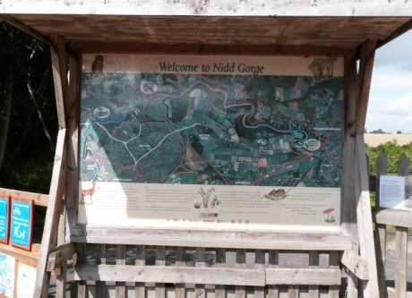 Nidd Gorge sign on Bilton Lane