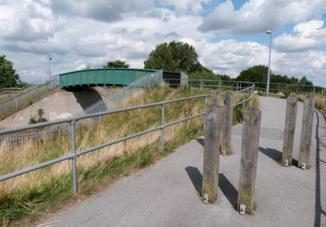 Footbridge to Nidderdale Greenway
