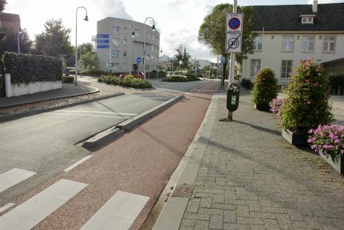 Bike lane, Zandvoort, NL