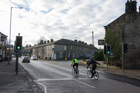 People riding bikes in Killinghall