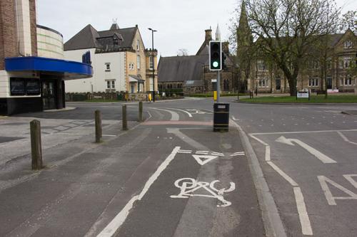 East Parade bike lane