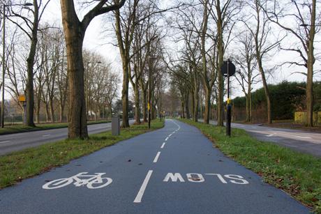 Birmingham A38 Blue Cycle Route
