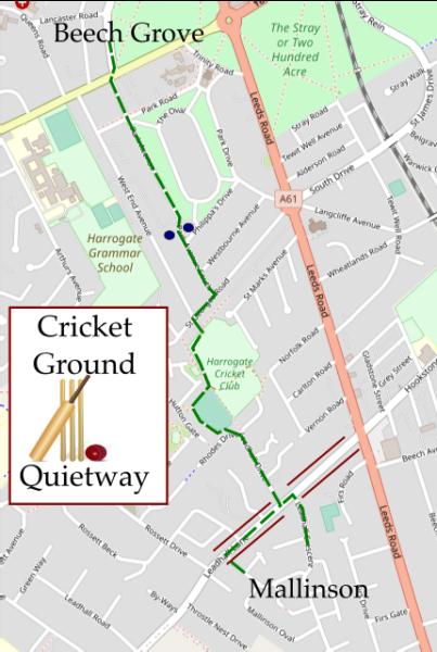 Cricket Ground Quietway, Harrogate