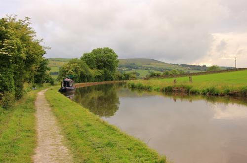 Canal towpath near Silsden