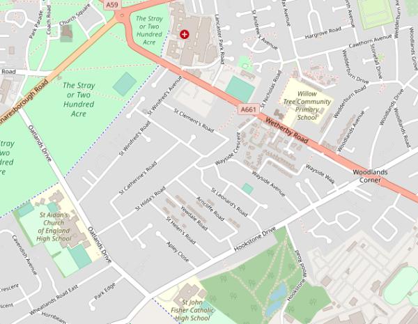 Saints Residential Area
