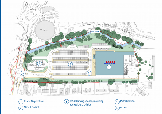 Proposed Tesco, Harrogate